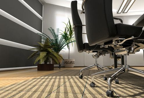 clean office chairs and table Shine Facility Services
