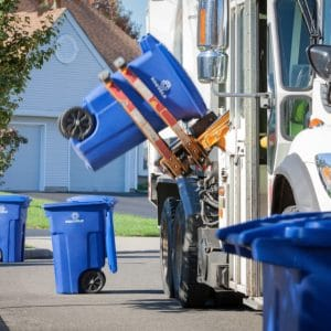 Curbside waste collection