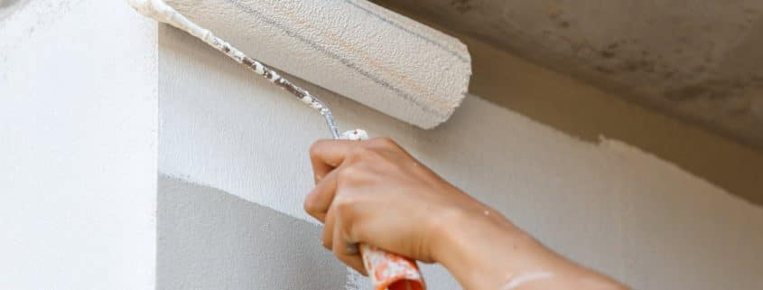 how to paint a room Shine Facility Services