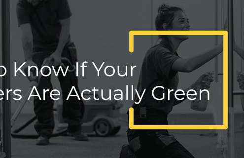 are cleaners actually green