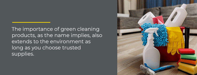 importance of green cleaning