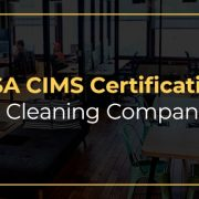 ISSA CIMS Certification for cleaning companies graphic.